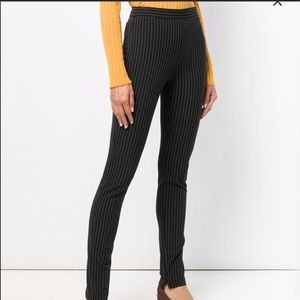 NWT Theory Stripped Skinny Trousers